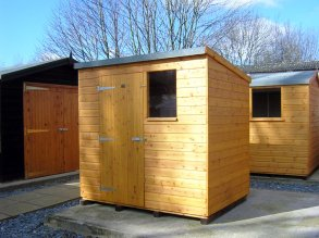 standard pent - Garden Sheds Essex